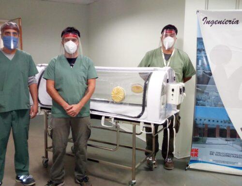 COVID-19: Sanjuaninos inventaron una cápsula para transportar infectados